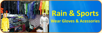 Rain & Sports Wear Gloves & Accessories